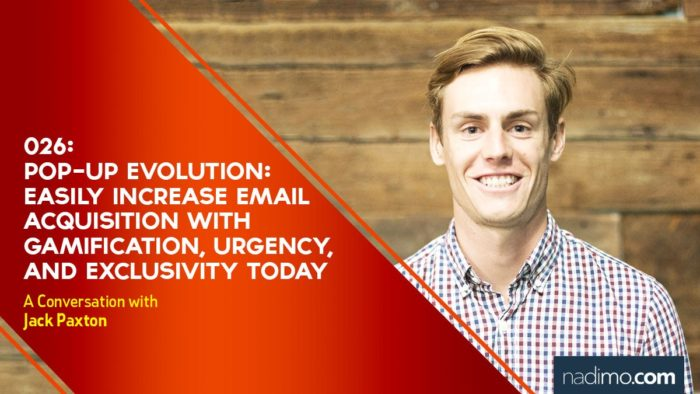 Pop-up Evolution: Easily Increase Email Acquisitions with Gamification, Urgency, and Exclusivity Today