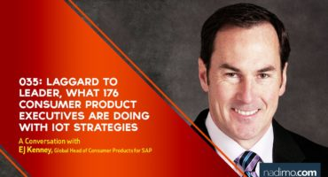 Laggard to Leader, What 176 Consumer Product Executives Are Doing With IoT Strategies