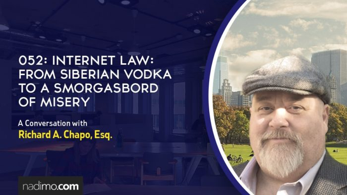 Internet Law: From Siberian Vodka to a Smorgasbord of Misery