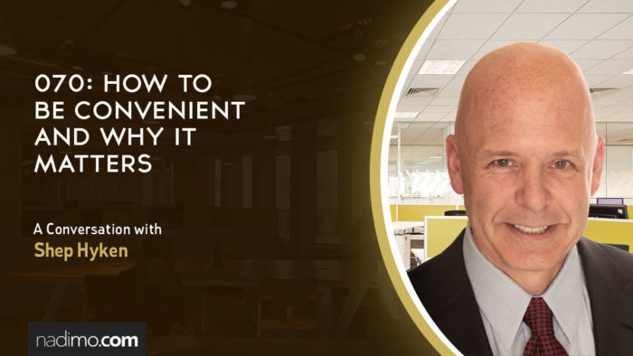 How To Be Convenient And Why It Matters