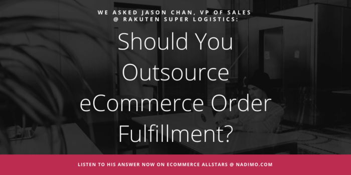 Should You Outsource eCommerce Order Fulfillment?