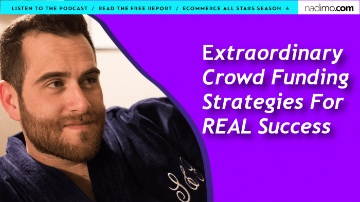 Extraordinary Crowdfunding Strategies For REAL Success